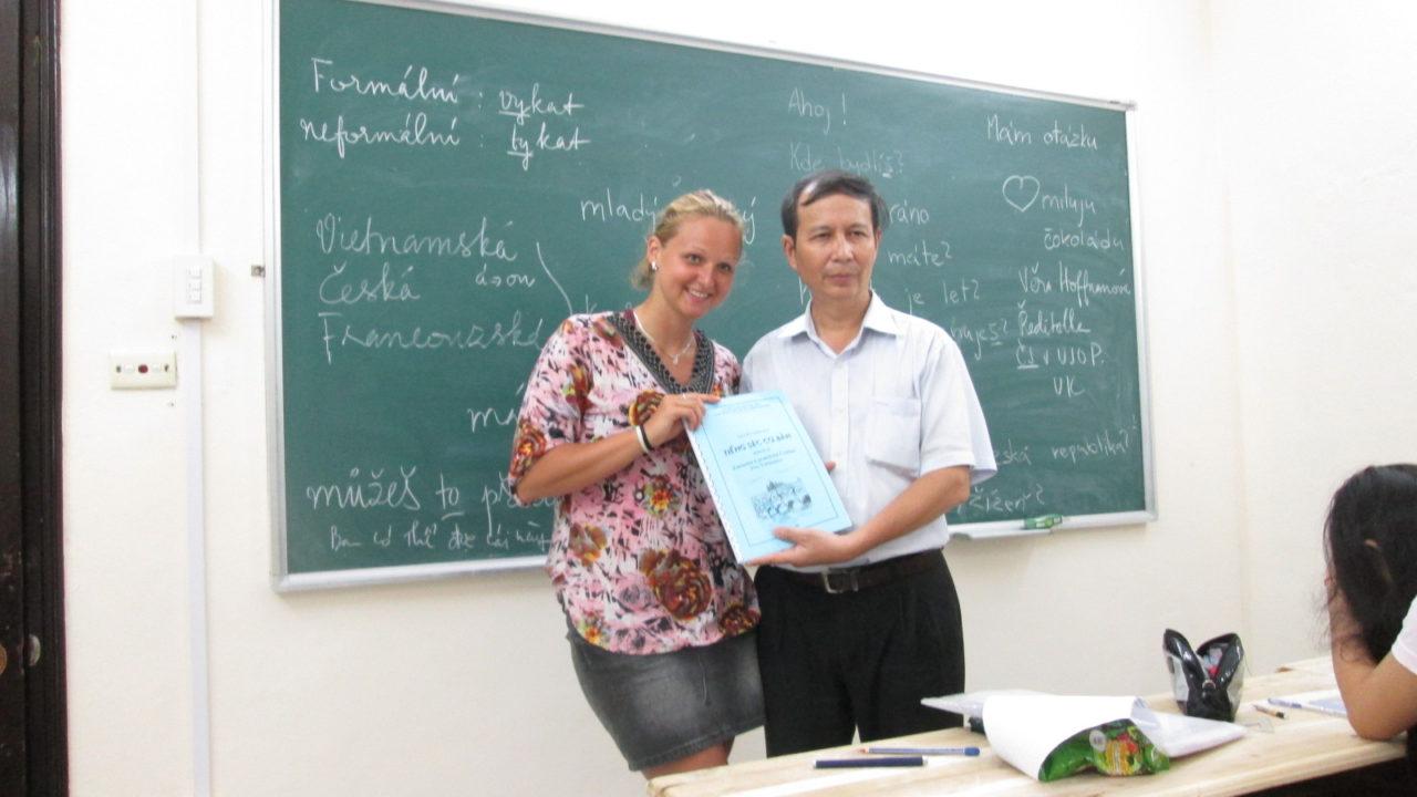Dáda na dovolené, aneb jak se učí čeština ve Vietnamu