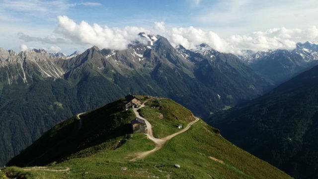 Jak získat práci na horské chatě v Alpách?