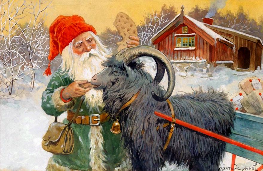 Jak se slaví Vánoce ve Švédsku?